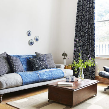 Indigo at home in Haggerston
