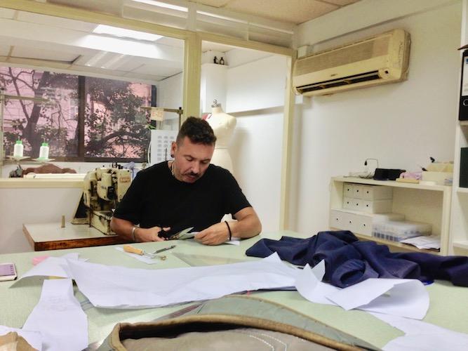 Andres Ferrer De Armas fashion designer studio pattern maker Spanish