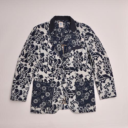 Floral mens jacket