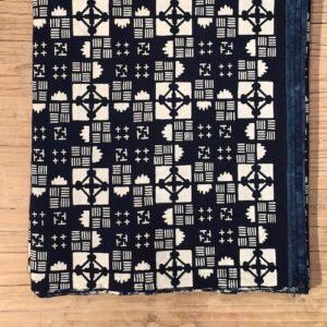 natural indigo dyed fabric