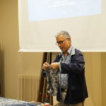 John Abbate of Bluehanded talk on  'Chinese Indigo Dying'  Lan Yin Hua Bu John Abbate lecture on indigo Lan Yin Hua Bu textile culture heritage fabric techniques resist paste