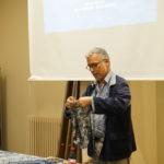 John Abbate of Bluehanded talk on 'Chinese Indigo Dying'Lan Yin Hua Bu John Abbate lecture on indigo Lan Yin Hua Bu textile culture heritage fabric techniques resist paste
