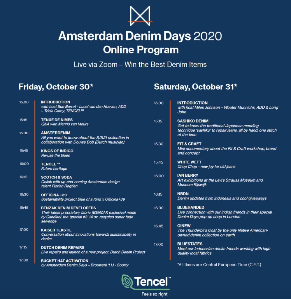 Amsterdam denim days festival online program